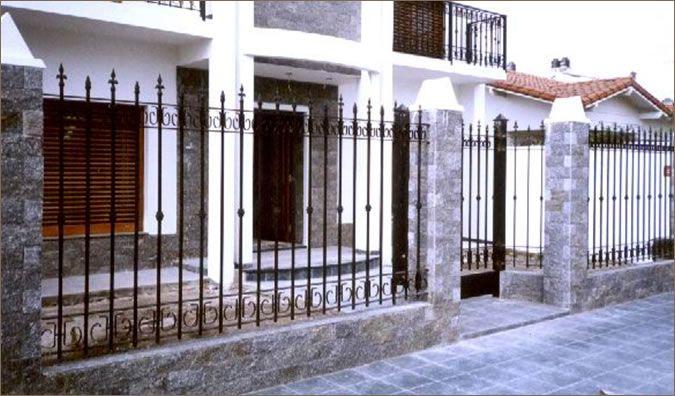 Cerrajeria de hierro rejas y cancelas de hierro pirineo sicilia - Cancelas de hierro ...